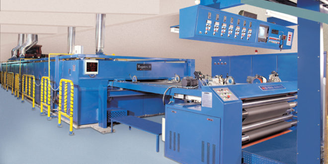 Stenter Machine is used in Textile Industry