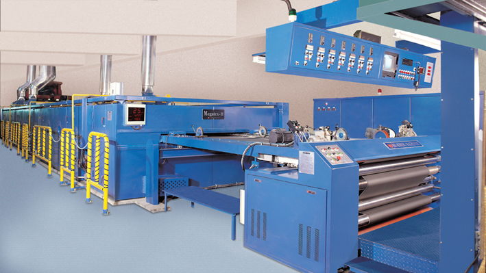 Stenter Is Electrical Machines Used For Textile Finishing