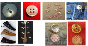 Fabric Trim – Buttons for Children
