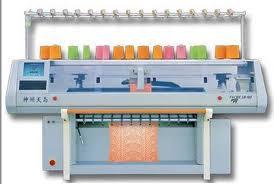 Flat Knitting M/C is a Modern Knitting Machine