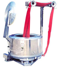 Activities of Centrifuge Extractor for Industrial Laundering