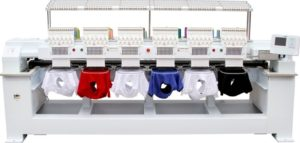Cap/Tubular Embroidery Machine for Cute Embroidery
