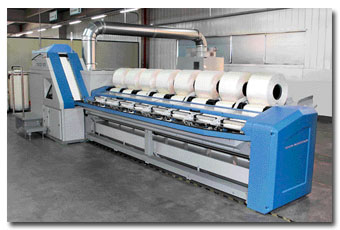 Spinning Mill use Comber Machine for Spinning Process