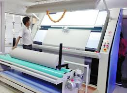 Fabric Inspection Machine For Fabric Mill Auto Garment
