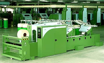 Lap Former Machine Cotton Lapping Process In Textile