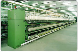 Ring Spinning Machine / Ring Frame is used in Spinning Mill