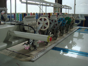 Sequin Embroidery Machine Which Embroider On Garments