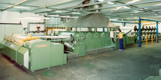 Sizing Machine for Textile Industry Process
