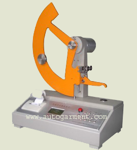 Textile tearing fabric tester