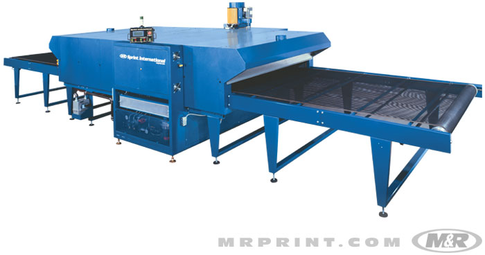 Printing Dryer have Conveyor for Conveying Garments