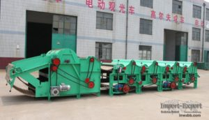 Rags Tearing Machine for Waste Management