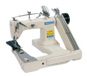 feed of the chain stitch sewing machine