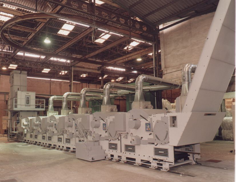 Rags Tearing Machine is used for Waste Management