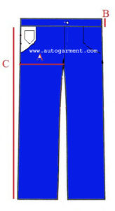 Marketing for Woven Pant