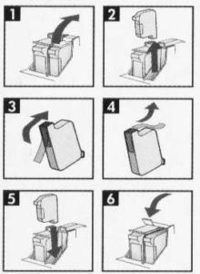 Ink Cartridges of cad plotter
