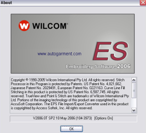 wilcom es designer 2006 software