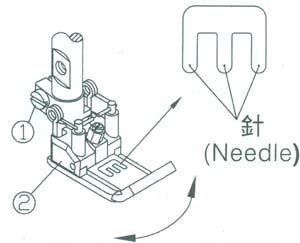Adjusting Presser Foot