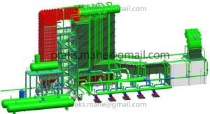 Boiler Flue Gas Mechanism