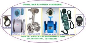 mechanical flow meter and electronic water meter