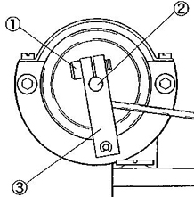 Rotary Solenoid (large) and Blind Hem Guide