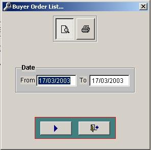 Buyer Order List