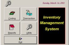 Computerized Inventory Control System Pdf