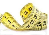 The Divisions of a Cloth Measuring Tape