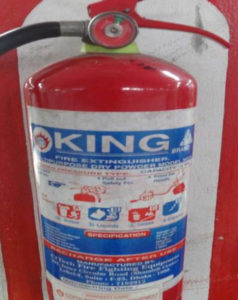 Fire Safety Devices. Safety and Security Management