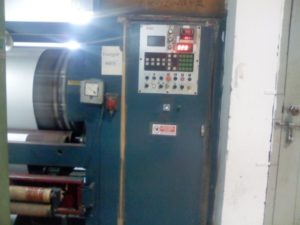 Control Panel of Peach Finish Machine