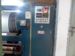 Control Panel of Peach Finish Machine