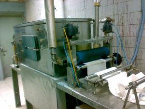 Pad Steam Dyeing Machine