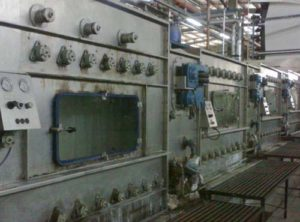 Pad Steam Dyeing Machine - Neutralizing unit