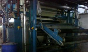 Pad Steam Dyeing Machine - Padding unit