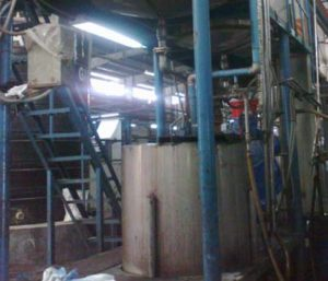 Thermosol Dyeing Machine - Chemical Mixing tank