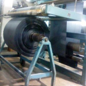Thermosol Dyeing Machine - Fabric outlet