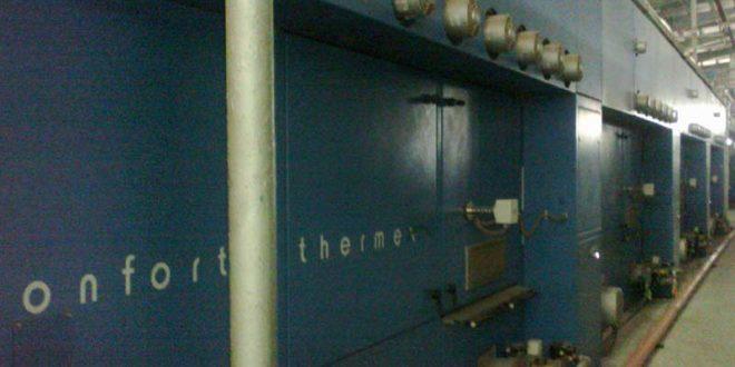 Thermosol Dyeing Machine