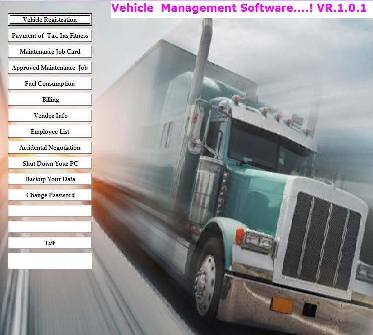 Online Vehicle Management System Software | Auto Garment
