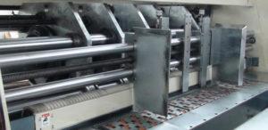Eccentric Slotter Machine - Feeding operate table