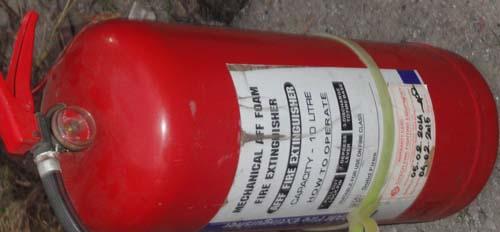 Fire Equipment Item List | Auto Garment