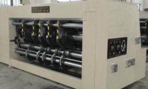 Eccentric Slotter Machine - Slotting Unit