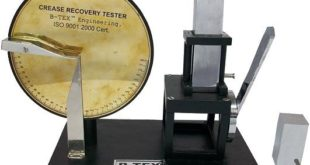 What is Crease Recovery Tester?