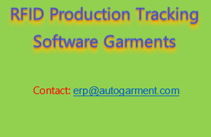 RFID Production Tracking Software Garments | Auto Garment