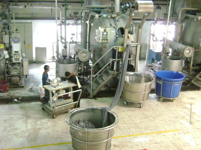 tot program for advanced course in garment washing and