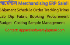 Garments Merchandising Management System ERP