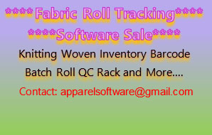 Barcode Enabled Fabric Roll Tracking System Software Sale