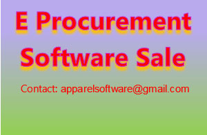 E Sourcing & E Procurement System Software