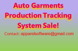 Auto Garments Production Tracking System-Software