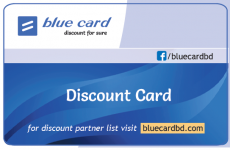 Blue Card for Garments Corporate House