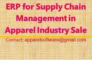 ERP for Supply Chain Management in Apparel Industry