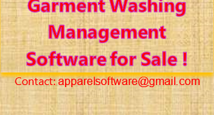 Garment Washing Management Software for Sale